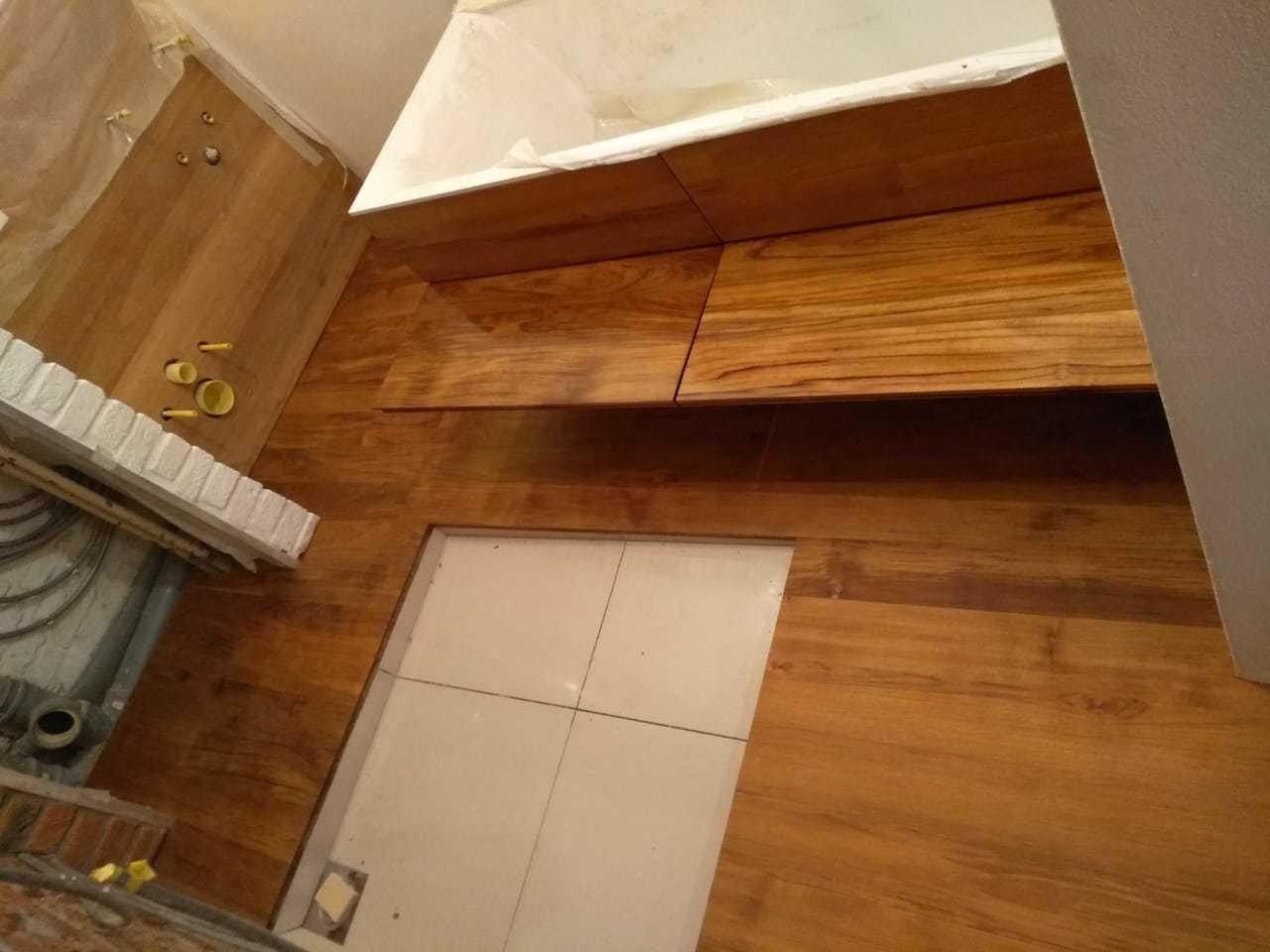 Тик ванная комната